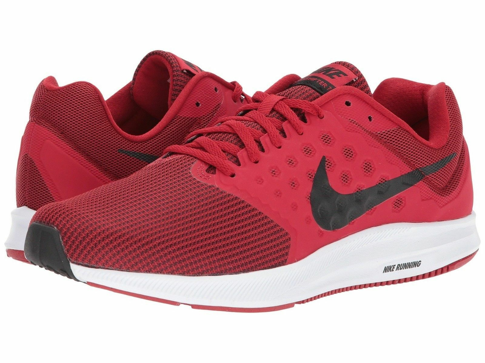 19b90ecf213 ... NIKE DOWNSHIFTER DOWNSHIFTER DOWNSHIFTER 7 MEN S 9.5 Gym Red Black White  852459-602 Running Shoes ...