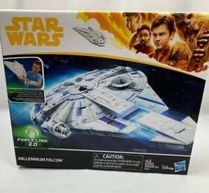 Hasbro-Star-Wars-A-Solo-Story-Force-Link-2-0-Millennium-Falcon-with-Escape-Craft