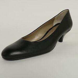 a38674af49 Van Dal Exeter Black Leather Court Shoes E/EE Wide Fitting New £40 ...