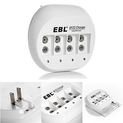 EBL 6F22 Battery Charger For 6F22 9V li-ion Rechargeable Battery