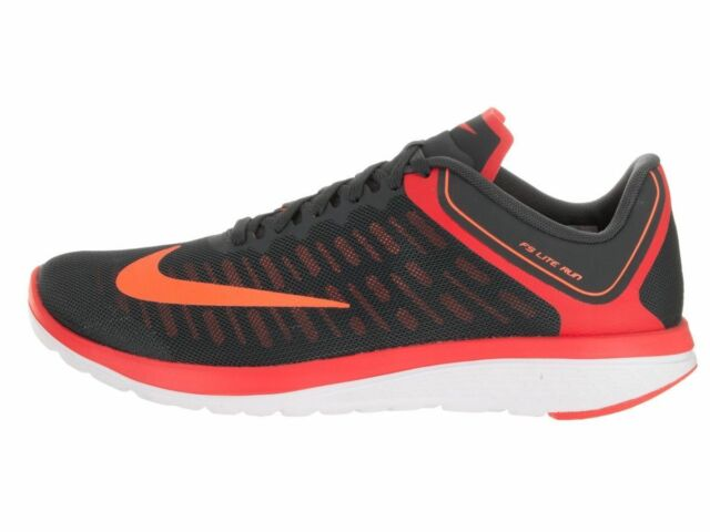 Nike FS Lite Run 4 New Men's Running Shoes 852435 004 AnthraciteOrng Size 10