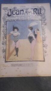 Rivista Jeans Che Rit N° 414 1909 Giornale Illustre che Appaiono Il Venerdì ABE