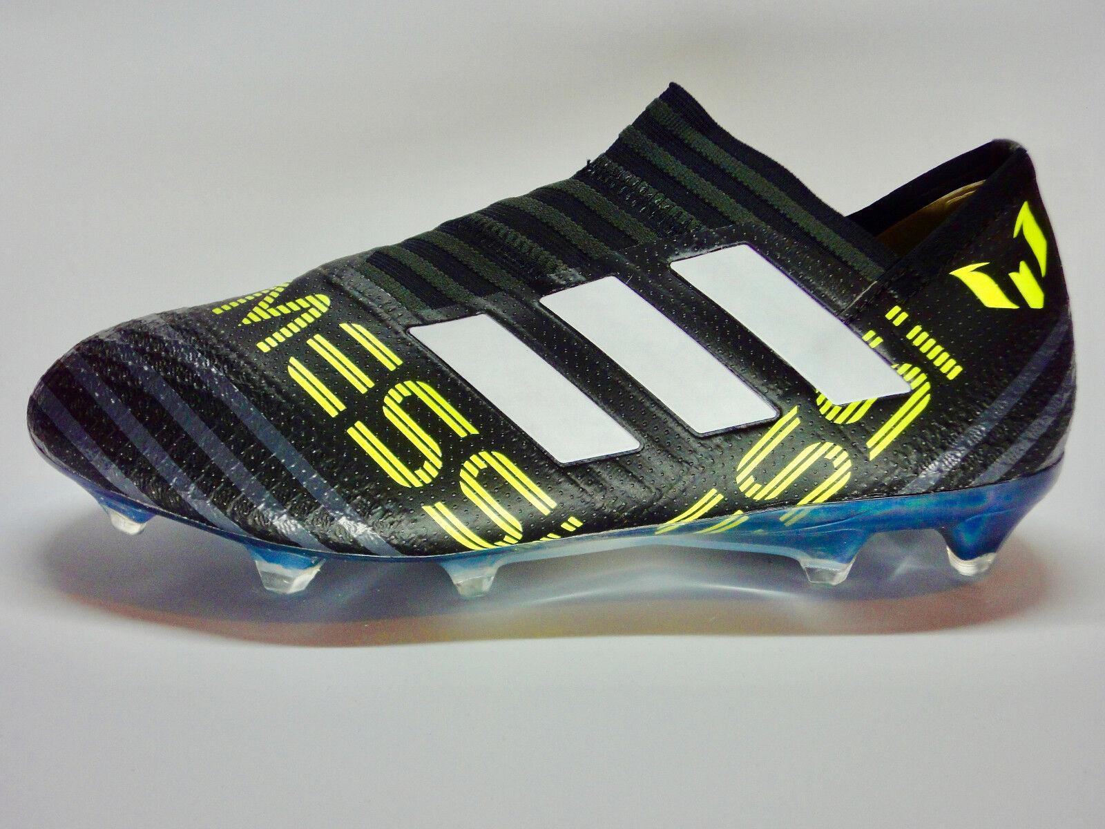 Adidas Nemeziz Messi 17+ 17+ 17+ 360 Agility FG Herrenschuhe schwarz weiß gelb CG2960 75ce56
