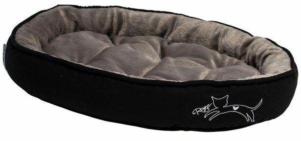 Rogz Snug Pod Cat Bed [Design: Jumping Cat] [Size: Small]