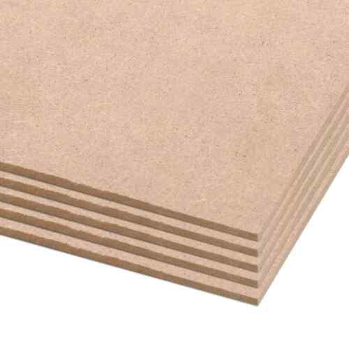 20x Hartfaserplatte HDF-Platte Platten Holzplatten Plakatrückwand 841x594x3 mm