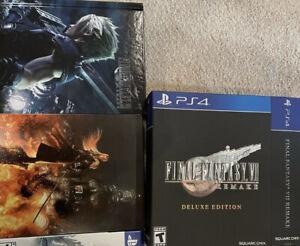 NO-GAME-Final-Fantasy-VII-Remake-Deluxe-Edition-BOX-Steelbook-Artbook-Soundtrack