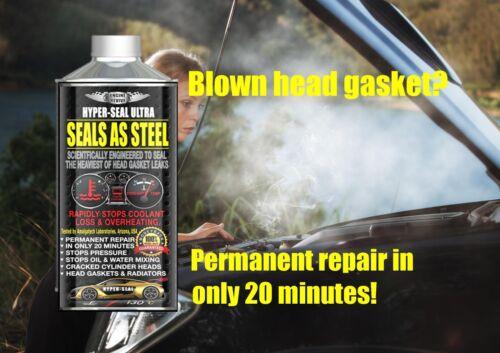 PERMANENT Head Gasket Repair SEALS AS STEEL for LAND ROVER Diesel Petrol Engines