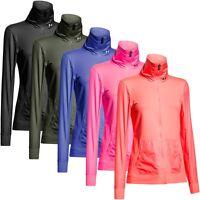 Under Armour 2015 Womens UA Studio Essential Jacket Full Zip Gym Sports Training