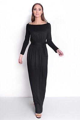 Logisch Womens Formal Long Maxi Dress Prom Party Evening Ball Gown Sizes 8-14 8193 100% Garantie