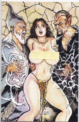 CAVEWOMAN A WIZARD A SORCERESS AND MERIEM MASSEY COVER B