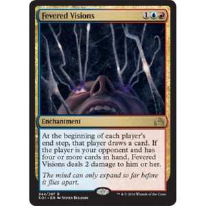 MTG SHADOWS OVER INNISTRAD Excellent Condition Fevered Visions