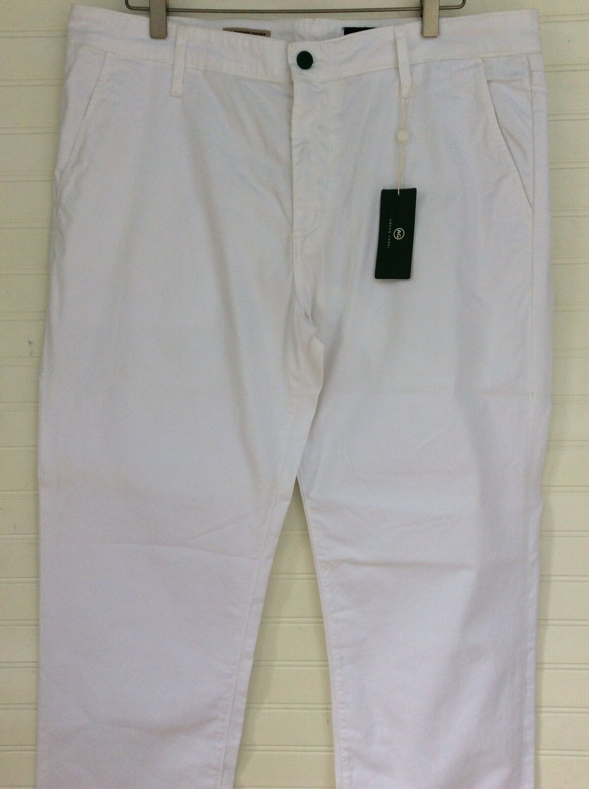 NWT MENS AG GREEN LABEL THE GRADUATE TROUSER SIZE 38 R