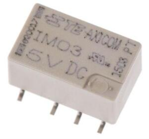 2-x-TE-Connectivity-IM03GR-DPDT-PCB-Mount-Relay-5V-DC-Coil-2A-250VAC-Sealed