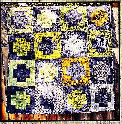 PATTERN - Something Positive - pieced quilt mini PATTERN - Villa Rosa Designs