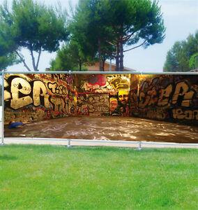 Brisa vista decoración personalizado jardines,terrasses y balcones Tag grafiti