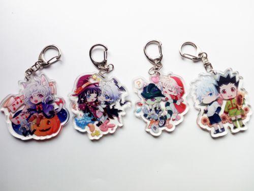 HUNTER X HUNTER Killua Aruka Meruem Neferpitou Acrylic Keychain  Cool Gift