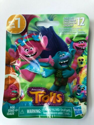 New! Lot of 8 Dreamworks Trolls Series 7 Blind Bags with Color-Changing Trolls