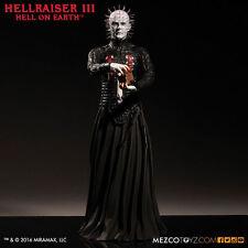 "Hellraiser III Inferno sulla terra Pinhead 12"" pollici Action Figure MEZCO 30cm"