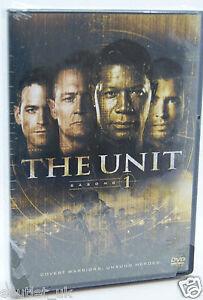 The Unit Season 1 DVD Region 2 BRAND NEW