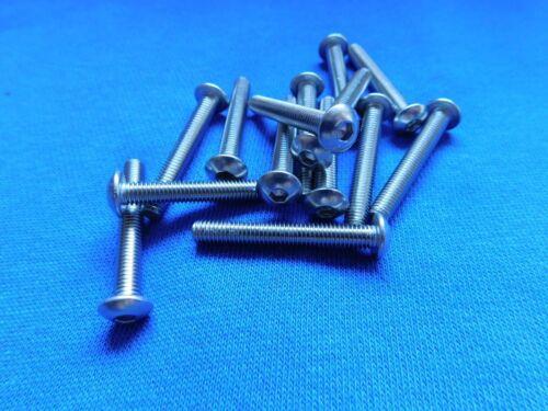Flachrundkopf Innensechskant Edelstahl ISO//DIN 7380 V2A M 5*50 15 St