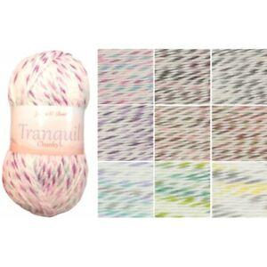 James-C-Brett-Tranquil-Chunky-Acrylic-Wool-Yarn-Knitting-Crochet-Craft-100g-Ball