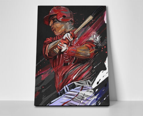 Mike Trout Art Poster or Canvas Angels