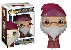Funko POP Movies: Harry Potter Albus Dumbledore Vinyl Figure #04 5863 NEW!!