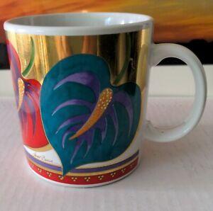 Laurel Burch Wild Anthurium Mug
