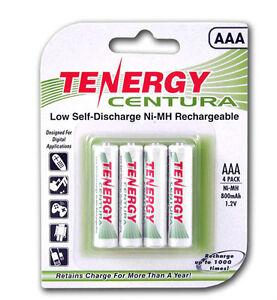 1-Card-4-Tenergy-Centura-AAA-LSD-NiMH-Rechargeable-Batteries