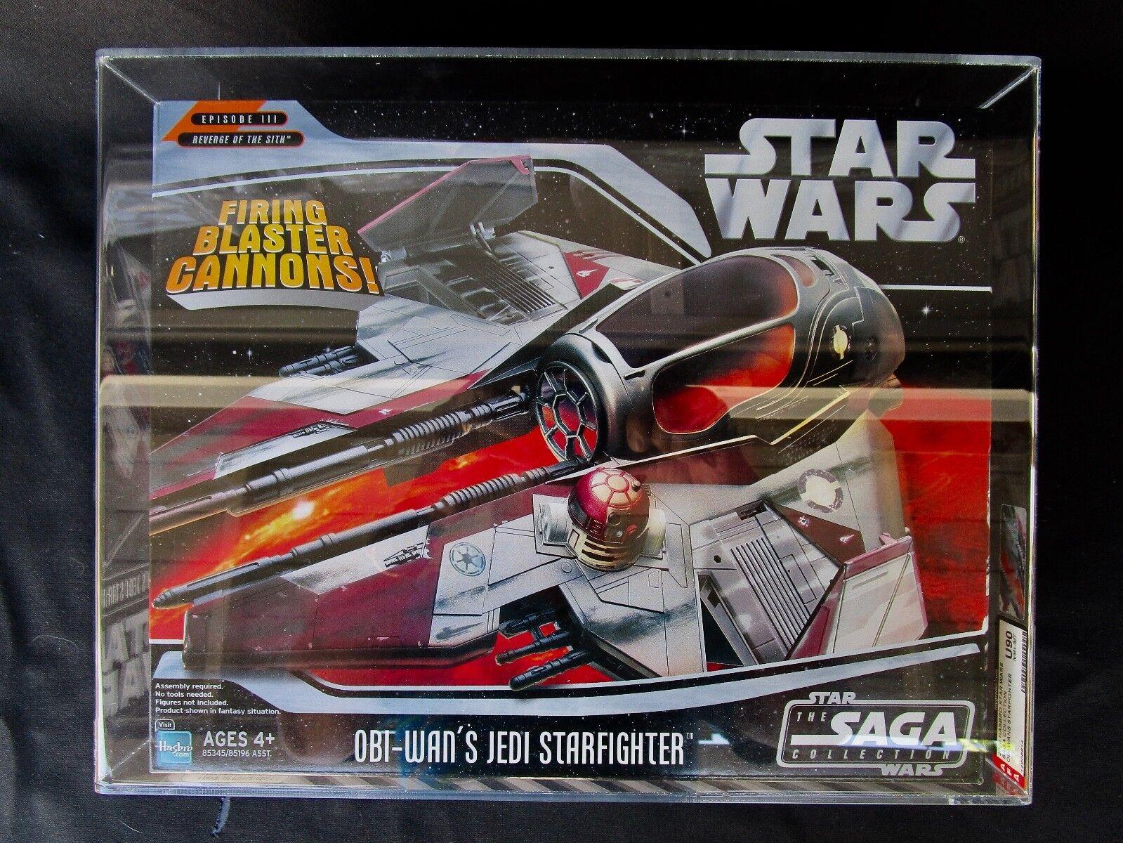 Star Wars 2006 Saga Collection Obi Wan Starfighter AFA Sealed MIB BOX
