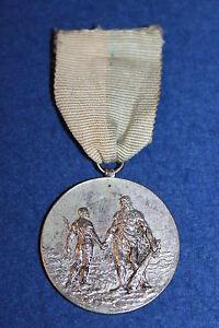 Logisch Nr.3714 Graf Orden Hohe Sicherheit Gewichtheben Reissen Silber Punze 1923 Wien D=3,6cm A.s.v