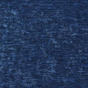 A0150m Blue Solid Shiny Woven Velvet Upholstery Fabric By The Yard