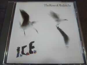 THE ROSE OF AVALANCHE - I.C.E CD New Wave / Indie Rocl / Goth Rock