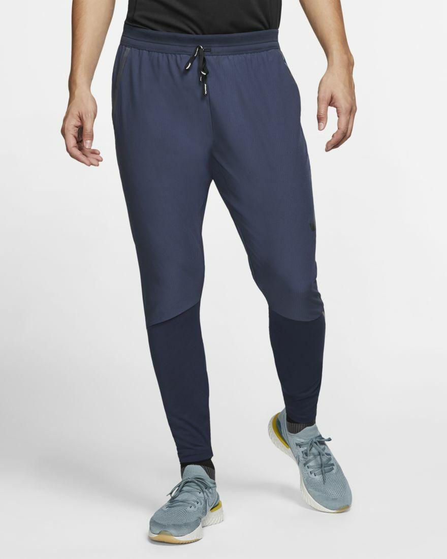 Nike Swift Running Pants -  Men's Small   120.00 - BV4809 451 Obsidian bluee  2018 latest
