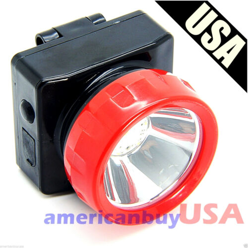 Wireless LED Light Head Lamp for Miner Mining Camping Hunting Outdoors Brighter