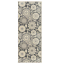 thumbnail 2 - Maidste Floral Hooked Gray/Ivory Rug