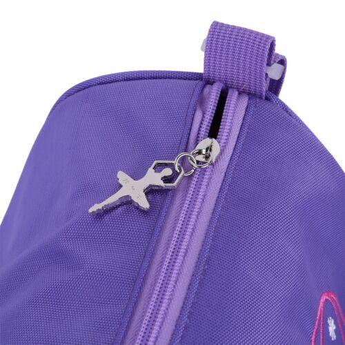 US New Fashion Kids Ballerina Ballet Dance Bag Hand Bag Shoulder Bag Duffel Bag