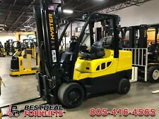 Qty 9 Refurbished 2016 Hyster S120ft Propane Forklifts 3 Stage Low Hours
