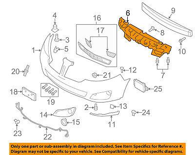 New Bumper Face Bar Reinforcement Rear FO1106368 BG1Z17906A Ford Taurus MKS