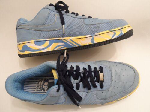 1 Us Nike 13 Azul Hombre Talla Force Air Cuero Uzwp1vq