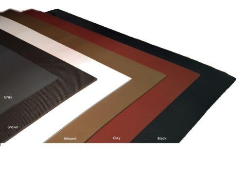 "SoleTech Diamond 50-55 Durometer Soling Sheet 18/"" x 36/"" 15 Iron, White"