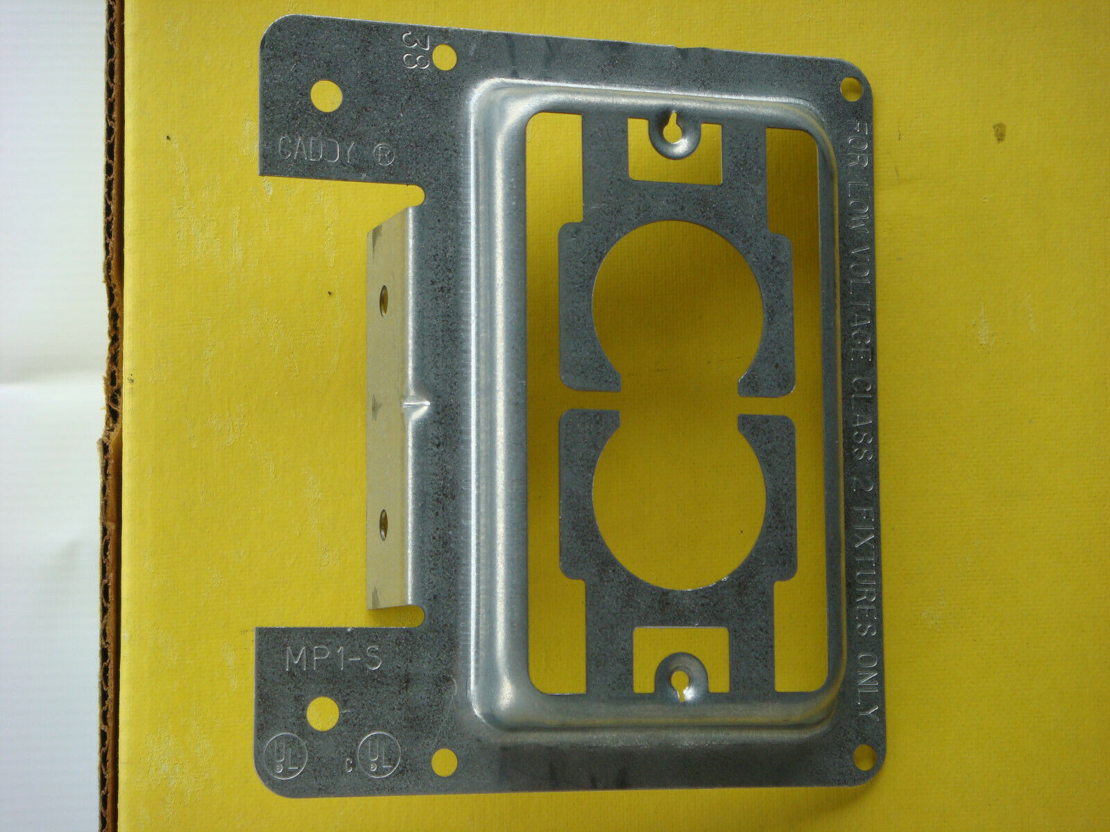 (10) Erico Caddy MP1S Low Voltage Mounting Plates, FREE SHIPPING!!!!!!!