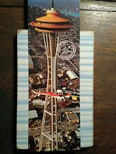 giant photo POST CARD 1962 WORLD'S FAIR SEATTLE WASHINGTON