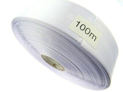 25m Ripsband 38mm Schleifenband Hochzeit Geschenkband mattes Satinband 40mm 4cm