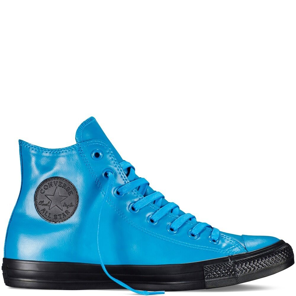 Converse CT Rubber Hi Tops, Cyan Space Blue/ Black Sole- Women's 9.5 NWOB