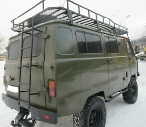 uaz 452 uaz 2206 dachtr ger dachgep cktr ger mit leiter. Black Bedroom Furniture Sets. Home Design Ideas