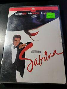 Sabrina - (DVD, Widescreen) - Harrison Ford - Julia Ormond - Brand New Sealed!