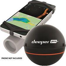Deeper NEW Fishing Sonar ProPlus Latest Model, Wifi, GPS, + FREE PHONE HOLDER