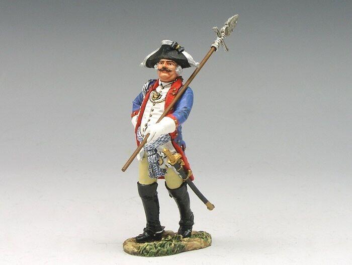 Kung och Land BR072 Amerikansk revolution hessisk officer med Pike Br72