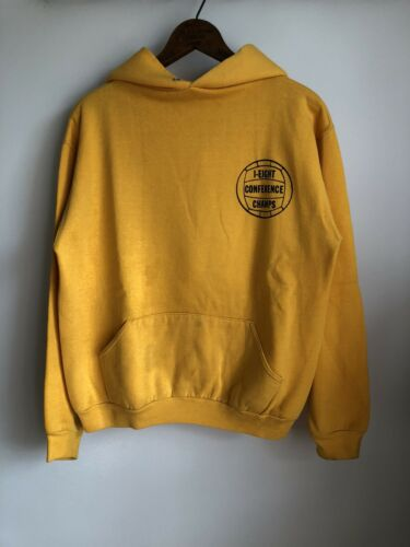 VTG 70s Russell Athletic Gold Yellow Hoodie Sweat… - image 1